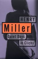 Quiet Days in Clichy