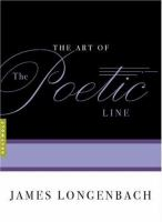 The Art of the Poetic Line