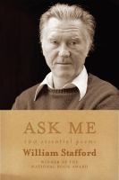 Cover of Ask Me: 100 Essential Poem