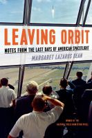 Leaving Orbit
