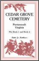 Cedar Grove Cemetery, Portsmouth, Virginia