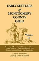 Early Settlers of Montgomery County, Ohio