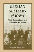 German Settlers of Iowa