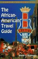 African-American Travel Guide (Adventure Guide Series)
