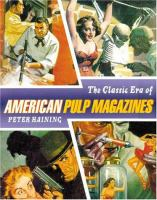 The Classic Era of American Pulp Magazines
