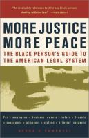 More Justice, More Peace