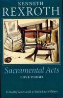 Sacramental Acts