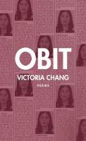 Obit: Poems