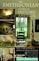 The Carolinas and the Appalachian States