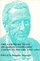 Gertrude Stein Awards in Innovative American Poetry, 1994-1995