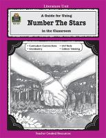 A Literature Unit for Number the Stars