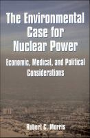 Environmental Case for Nuclear Power