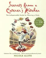 Secrets From A Caterer's Kitchen