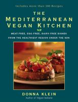 The Mediterranean Vegan Kitchen