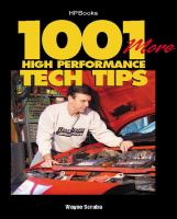 1001 More High Performance Tech Tips