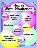 How To Write Nonfiction