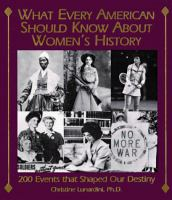 What Every American Should Know About Women's History