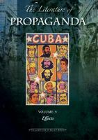 The Literature of Propaganda