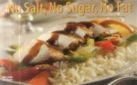 No Salt, No Sugar, No Fat