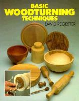 Basic Woodturning Techniques