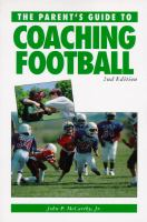The Parent's Guide to Coaching Football