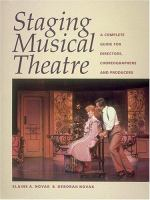 Staging Musical Theatre