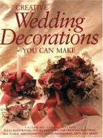 Creative Wedding Decorations You Can Make