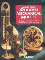 Making More Wooden Mechanical Models