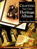 Crafting your Own Heritage Album