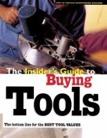The Insider's Guide to Buying Tools