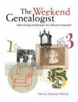 The Weekend Genealogist
