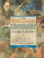 The Genealogist's Computer Companion