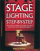Stage Lighting Step-by-step