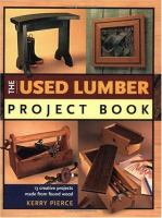 Used Lumber Project Book
