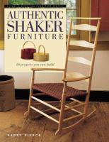 Authentic Shaker Furniture