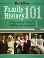Image: Family History 101