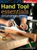 Hand Tool Techniques
