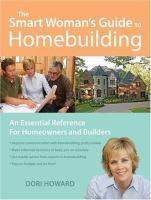 The Smart Woman's Guide to Homebuilding