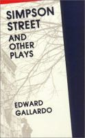 Simpson Street and Other Plays