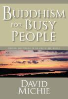 Buddhism for Busy People