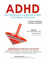 ADHD : Non-medication Treatments and Skills for Children and Teens