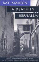 A Death in Jerusalem