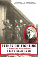 Rather Die Fighting