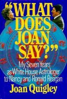What Does Joan Say?