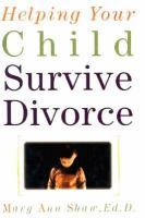 Helping your Child Survive Divorce