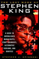 The Lost Work Of Stephen King