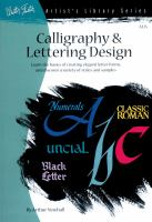 Calligraphy and Letter Design