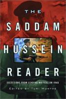 The Saddam Hussein Reader