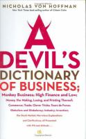 A Devil's Dictionary of Business