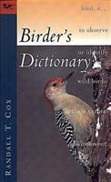 A Birder's Dictionary